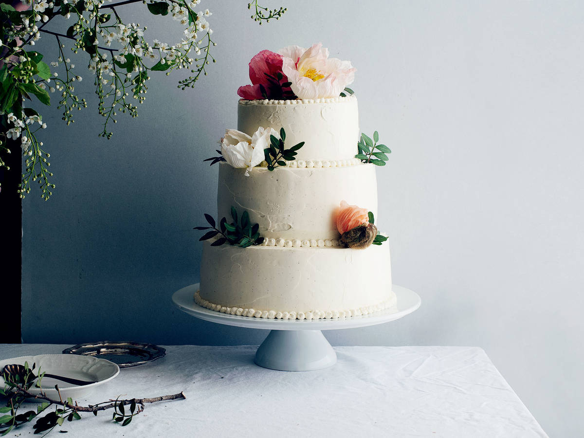 Homemade Wedding Cake.A Diy Wedding Cake Made Easy Stories Kitchen Stories