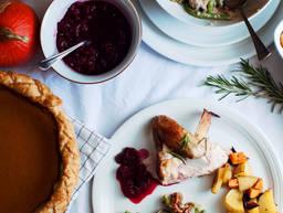 7道菜的感恩节大餐