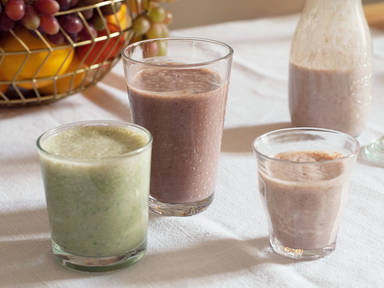 5 Colorful Smoothies for the New Year