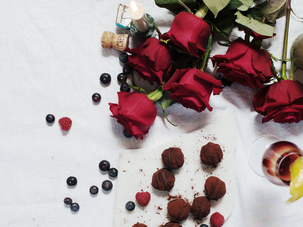 A Decadent Valentine's Day Menu for Two