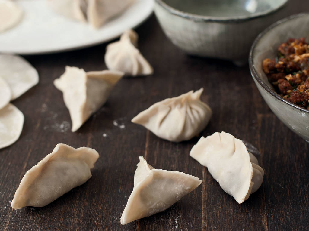 How to Fold Chinese Dumplings
