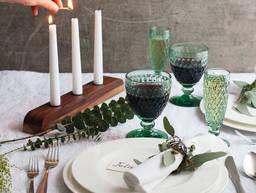 节日餐桌:3种布置