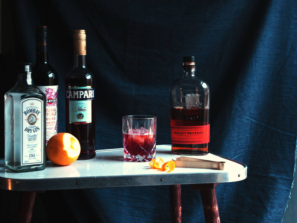 The 7 Bottle At-Home Bar