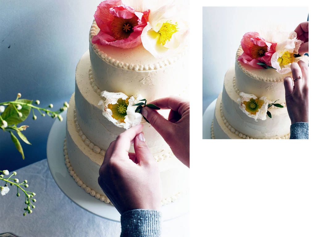 A DIY Wedding Cake Made Easy Stories Kitchen Stories - Wedding Cake Boards