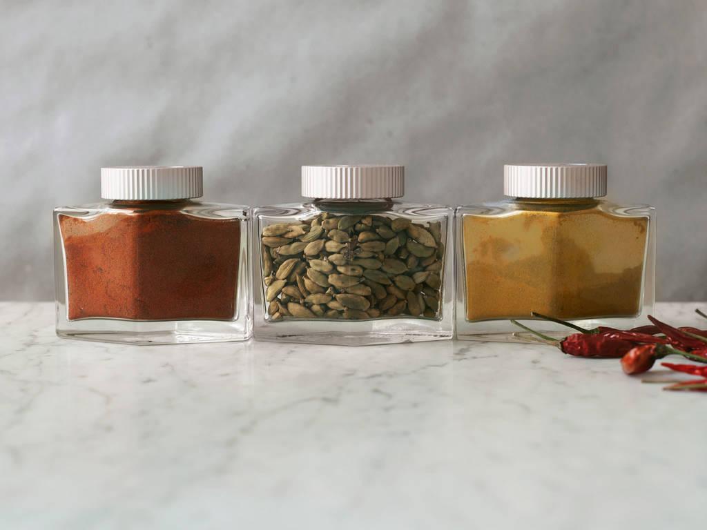 Paprika, Chili, Curry