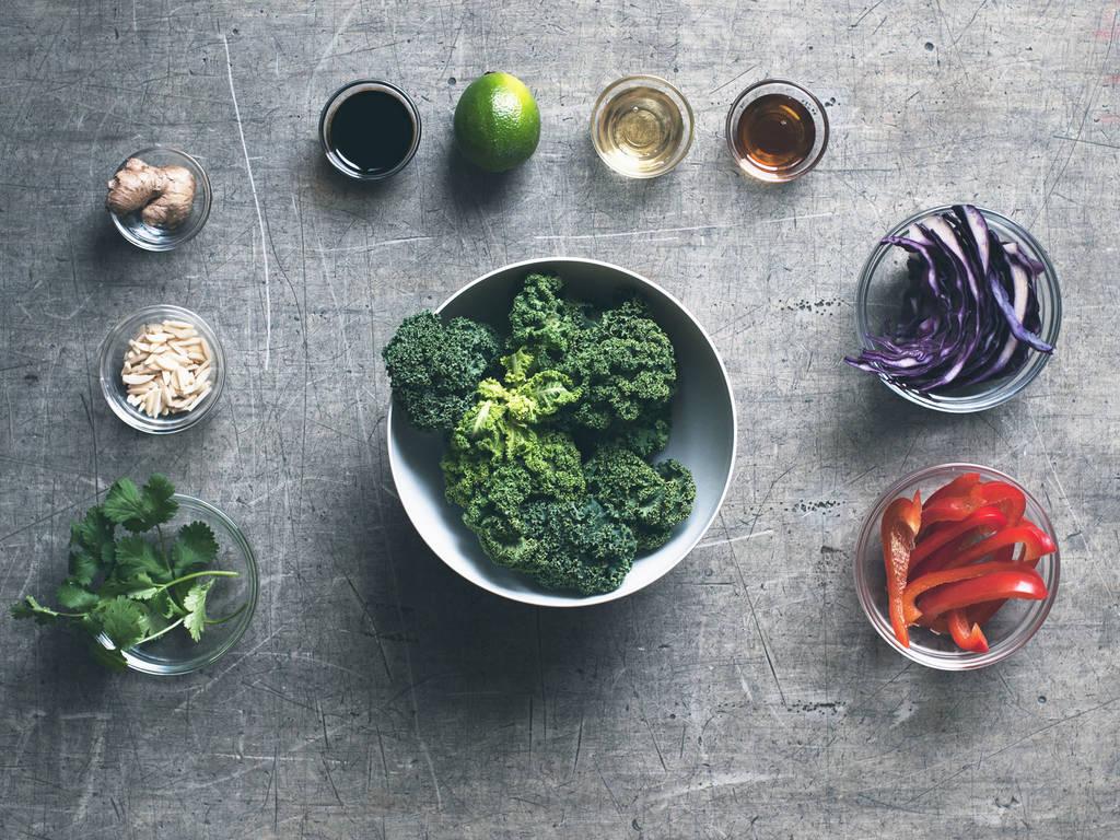 Asian Kale Slaw