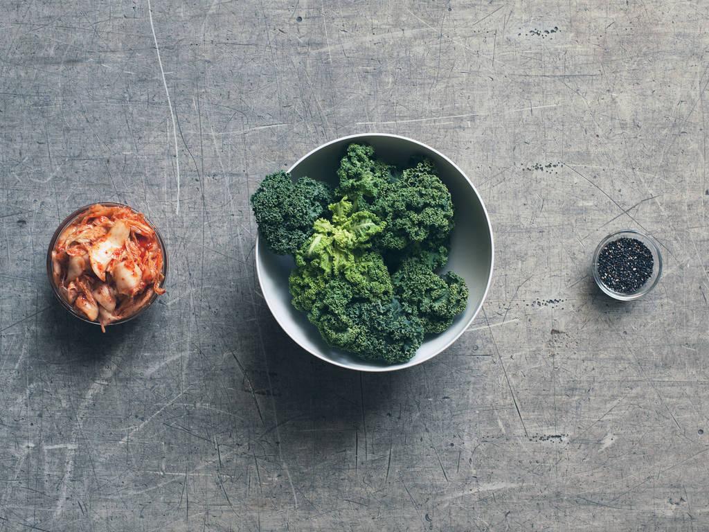 Grünkohl-Kimchi