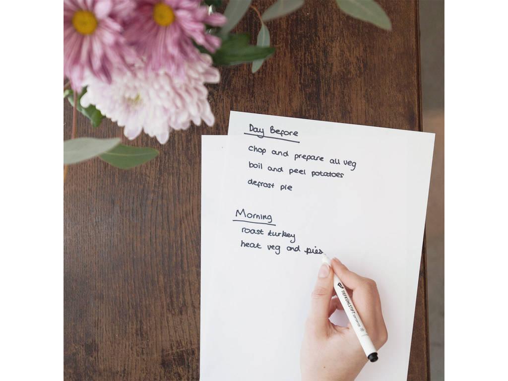 无压力感恩节的关键在于做好计划,所以,准备好你的笔记本。