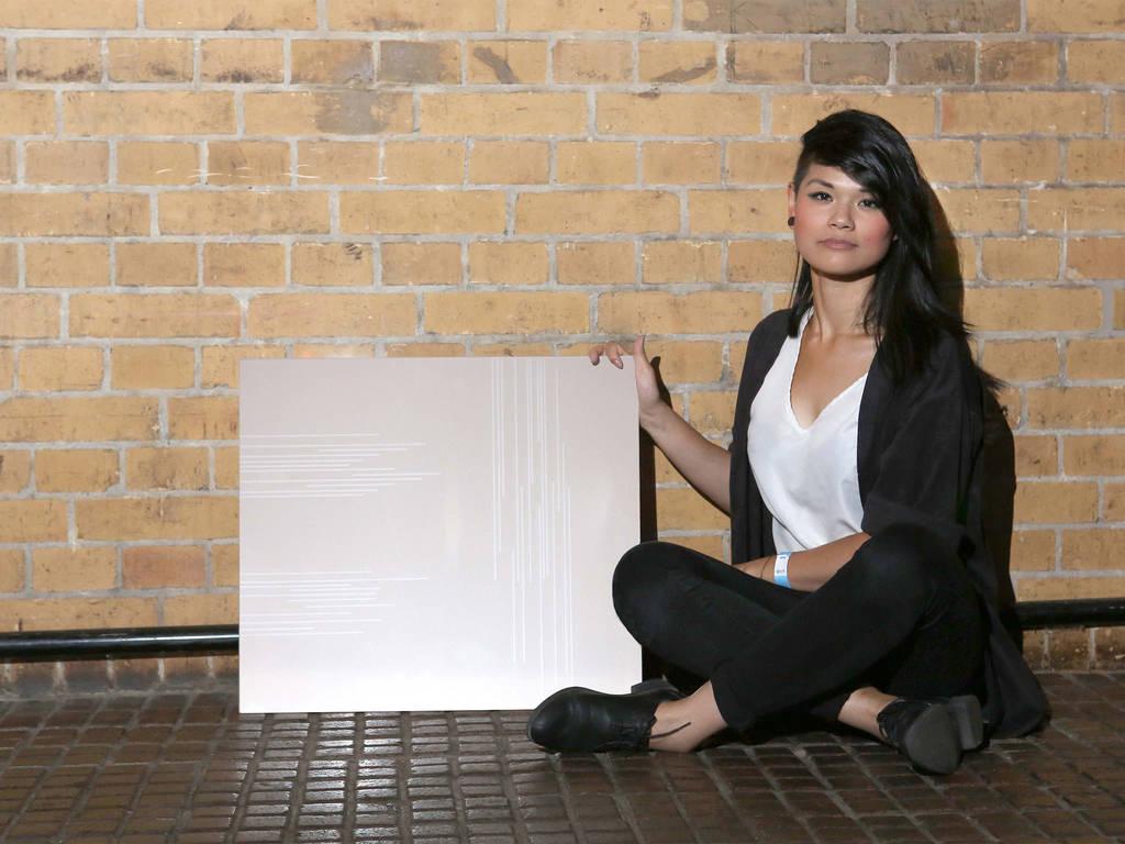 "The winner Hanh Phan with her design ""OnLines"" - © SCHOTT AG"