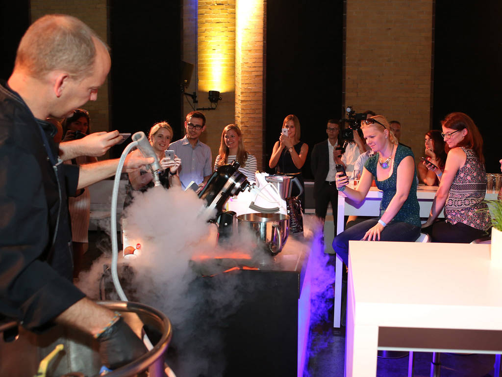 The ice cream workshop with KYL 21 - © SCHOTT AG