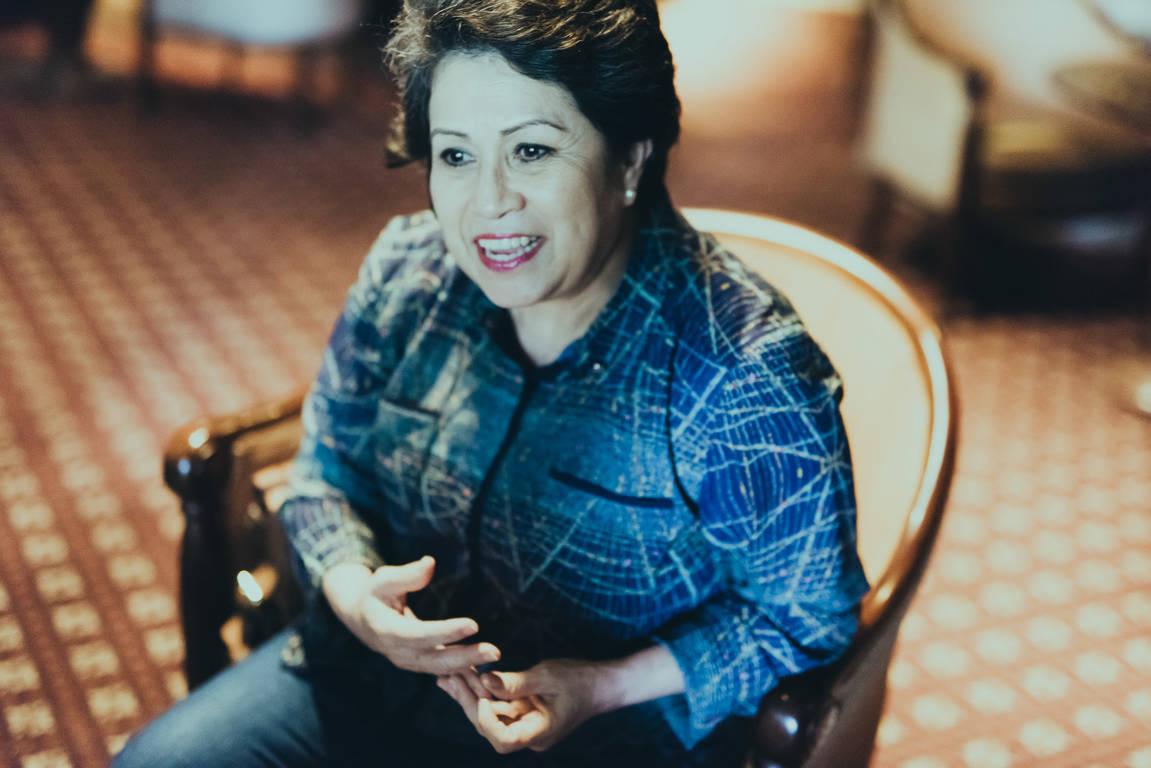 萨凯帕朗姆酿酒大师Lorena Vasquez
