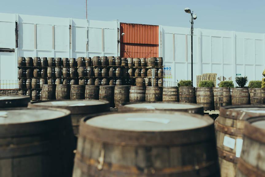 Ron Zacapa Rum Fässer