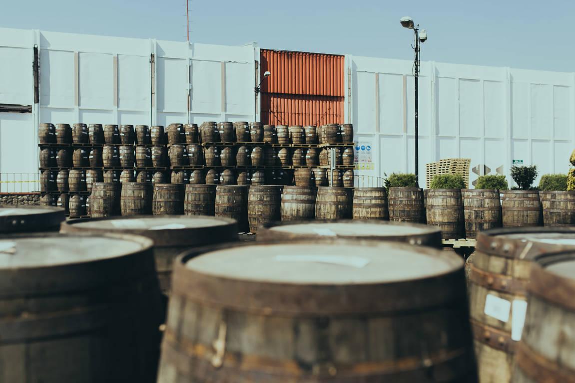 Barrels of Ron Zacapa Rum