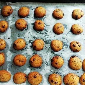 Cookies mit Schokoladenstückchen