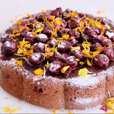 Brigitte Schokokuchen schokoladen rum kirsch kuchen rezept mit kitchen stories