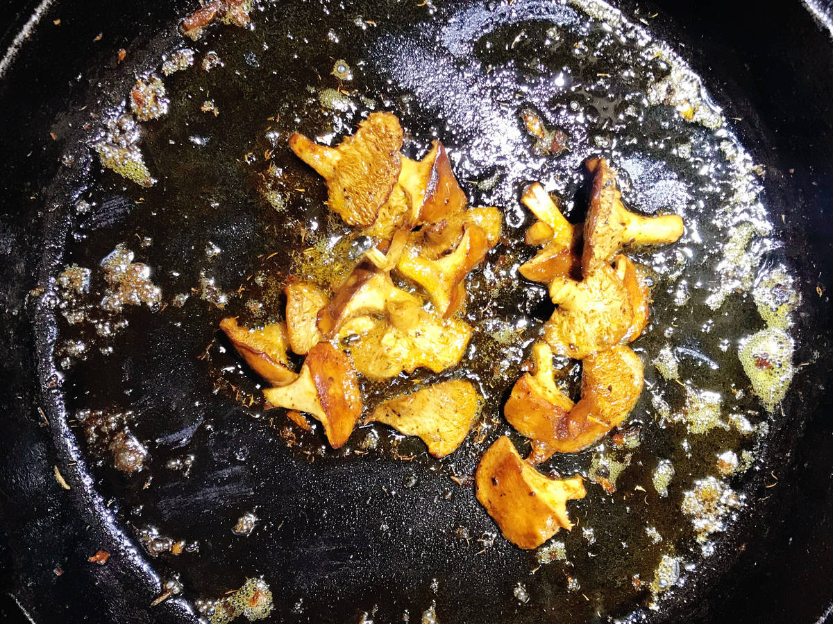 sautéed wild mushrooms