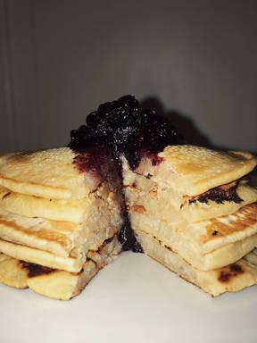 Delicious Vegan Fluffly Pancakes