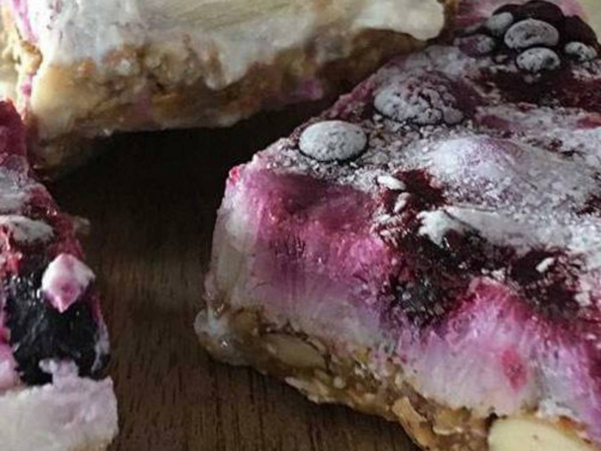 Frozen Joghurt Berry Bars