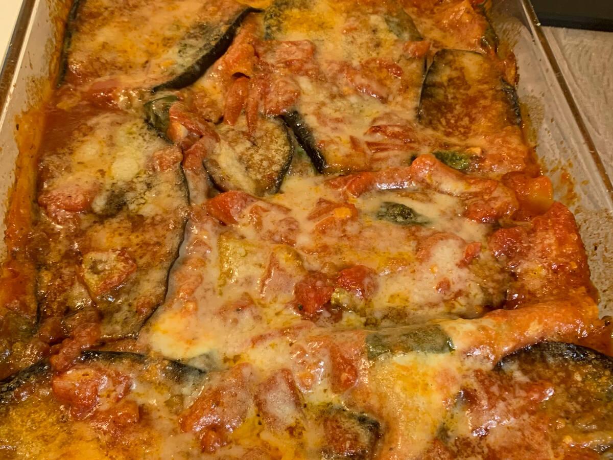 Auberginen-Auflauf Italia