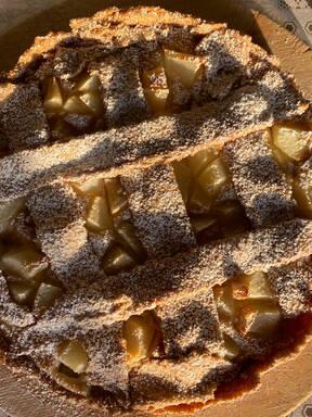 pears&cream pie