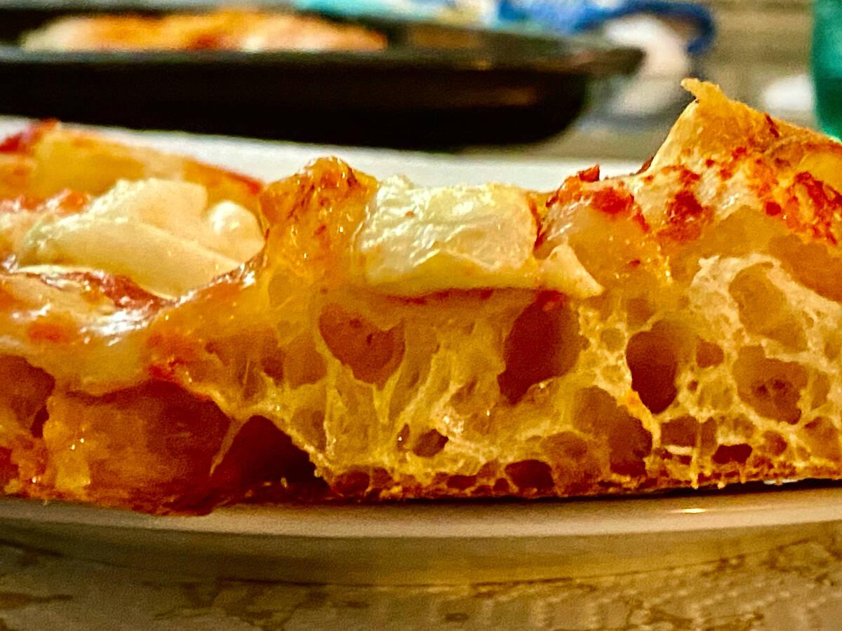 Italian Pizza in teglia - from Rome
