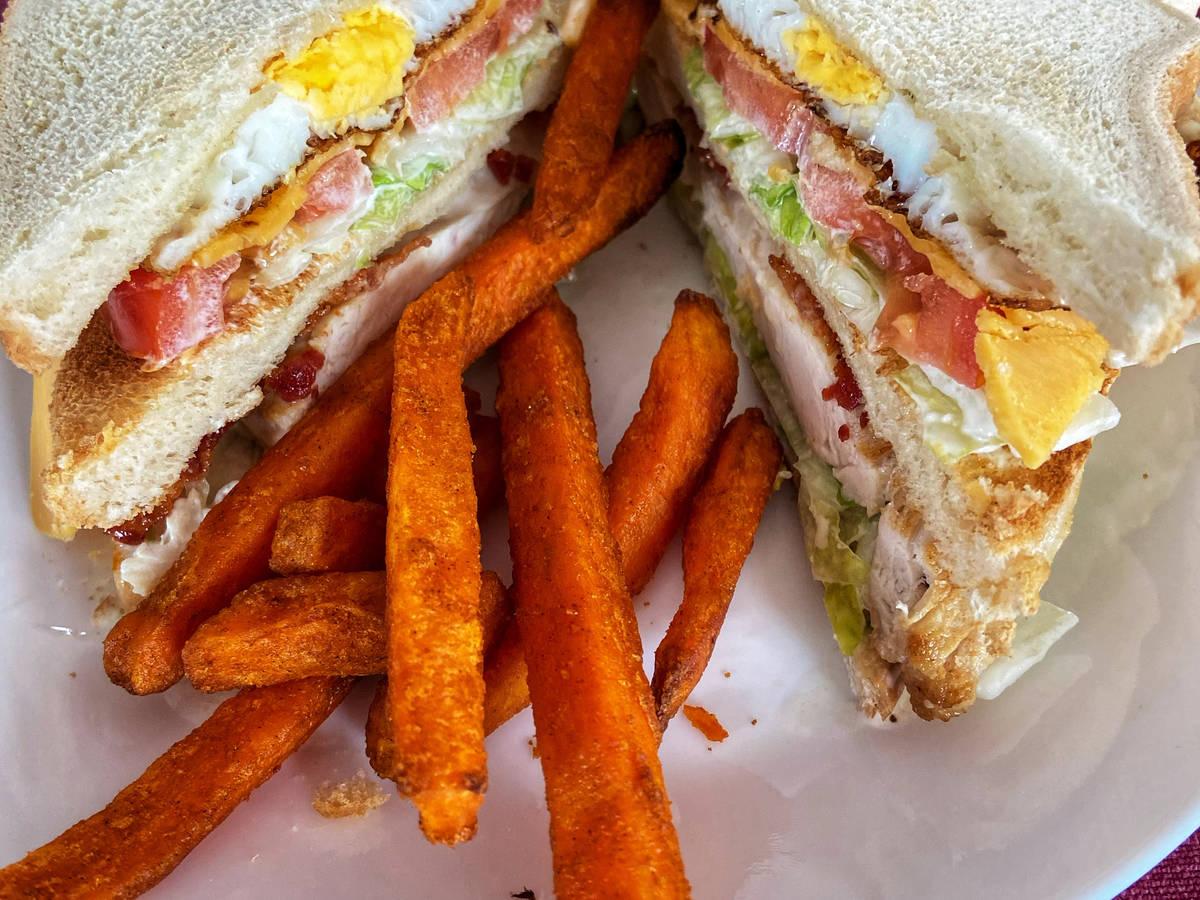 Decadent Club Sandwich