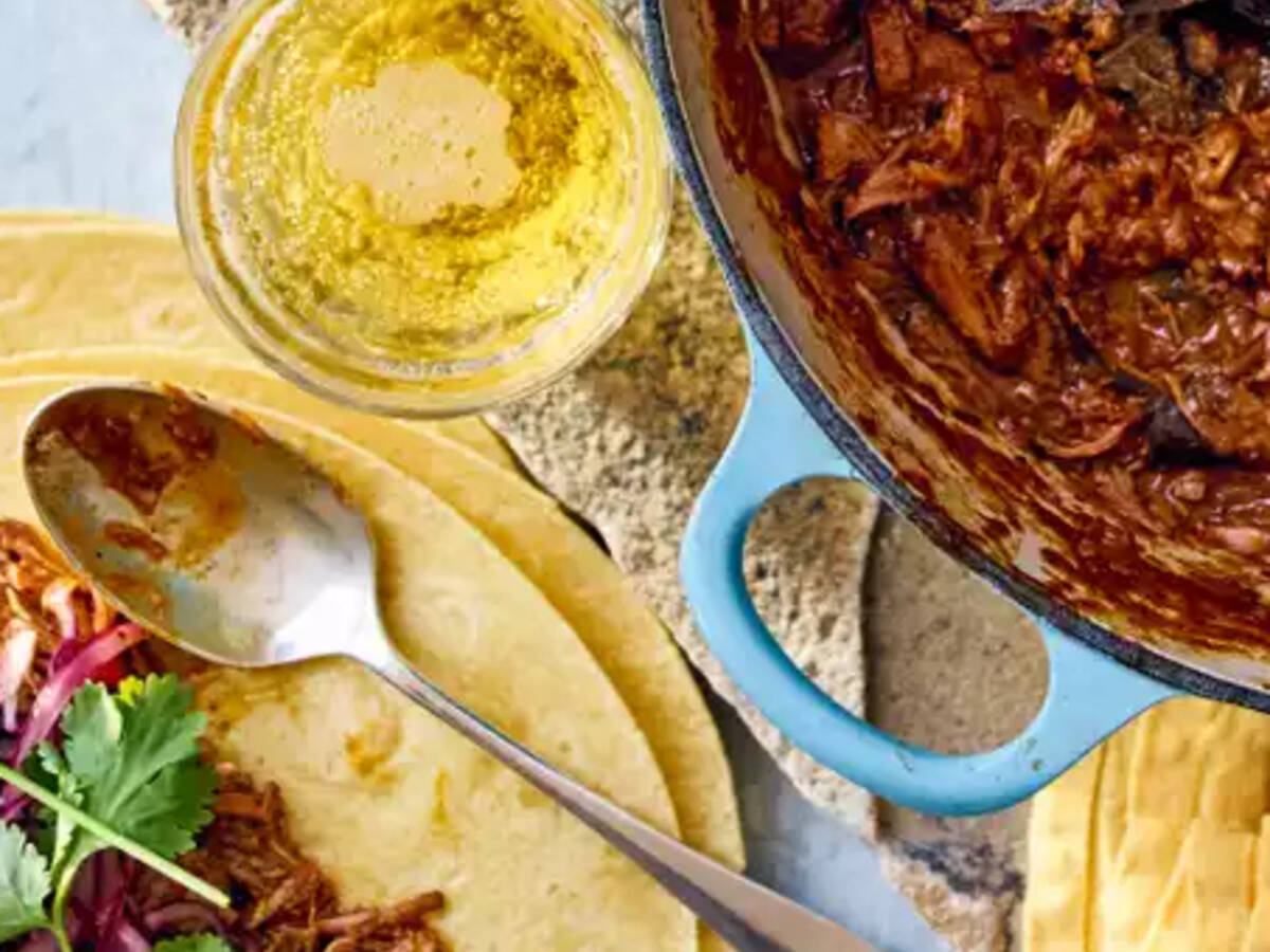Cochinita pibil with pork