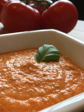 Salsa de tomate süß-sauer