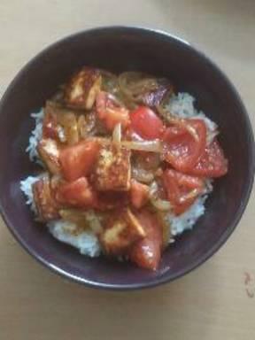 Black pepper and Paneer Stir Fry