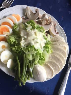 Schneller Salat mit 7 Zutaten