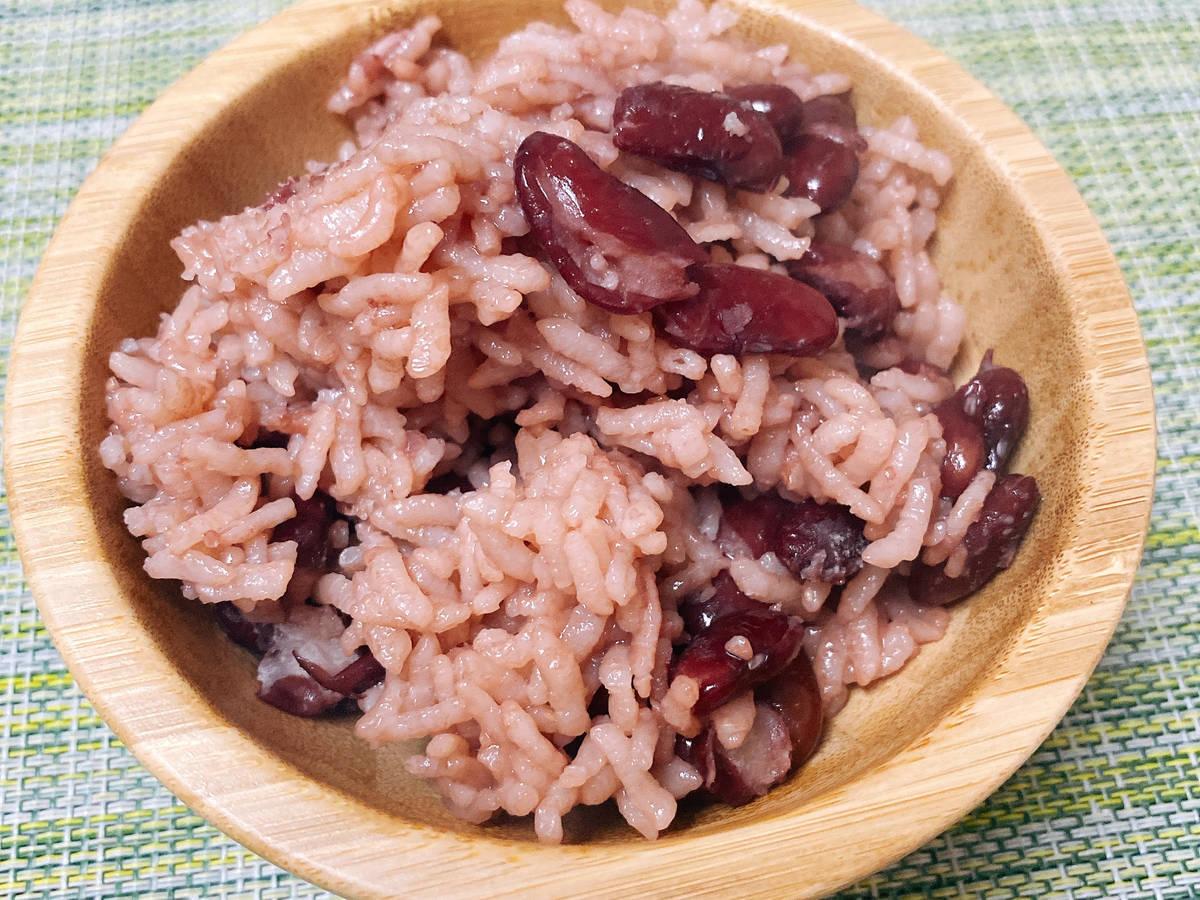 Kidney bean rice