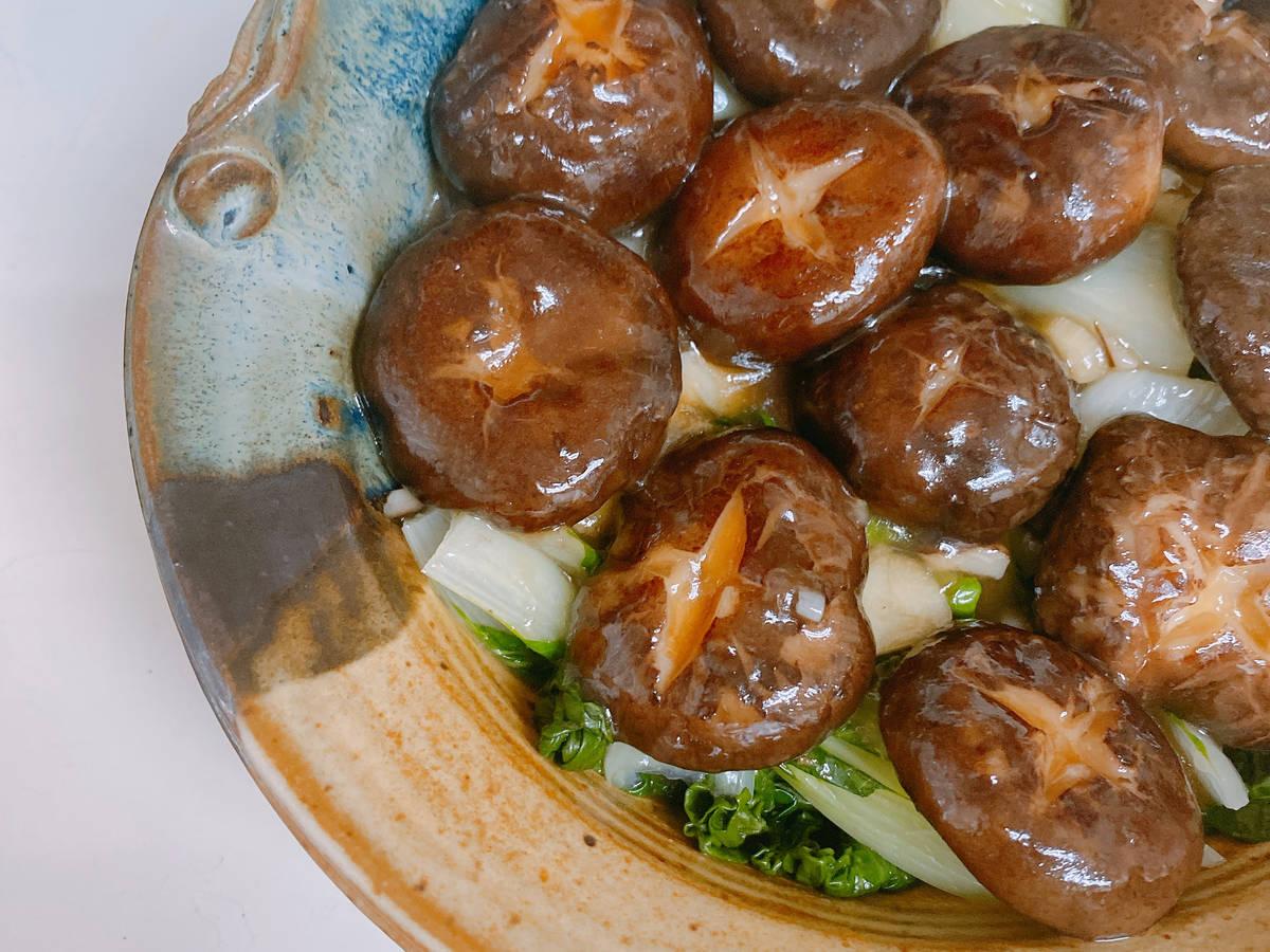 Shiitake Baby Bok Choy香菇油菜