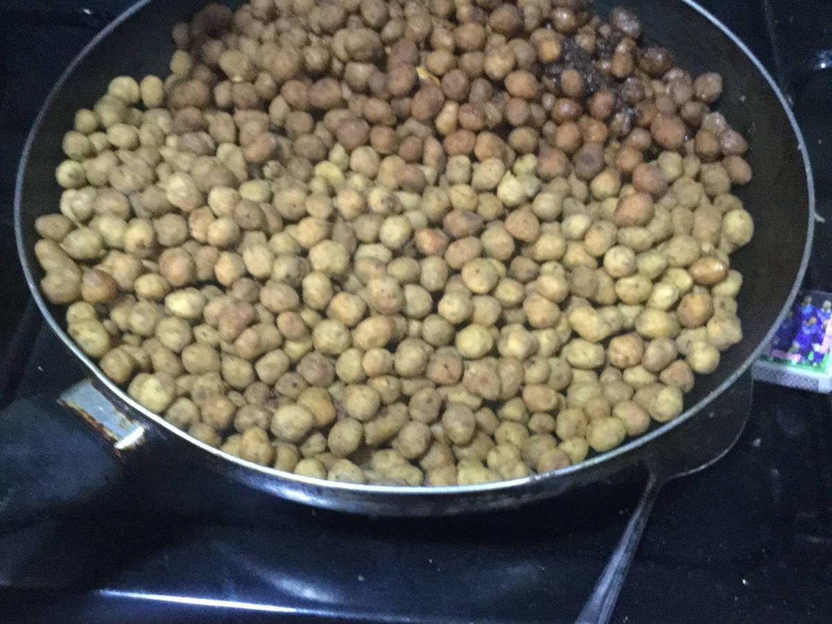 Nigerian coated peanut