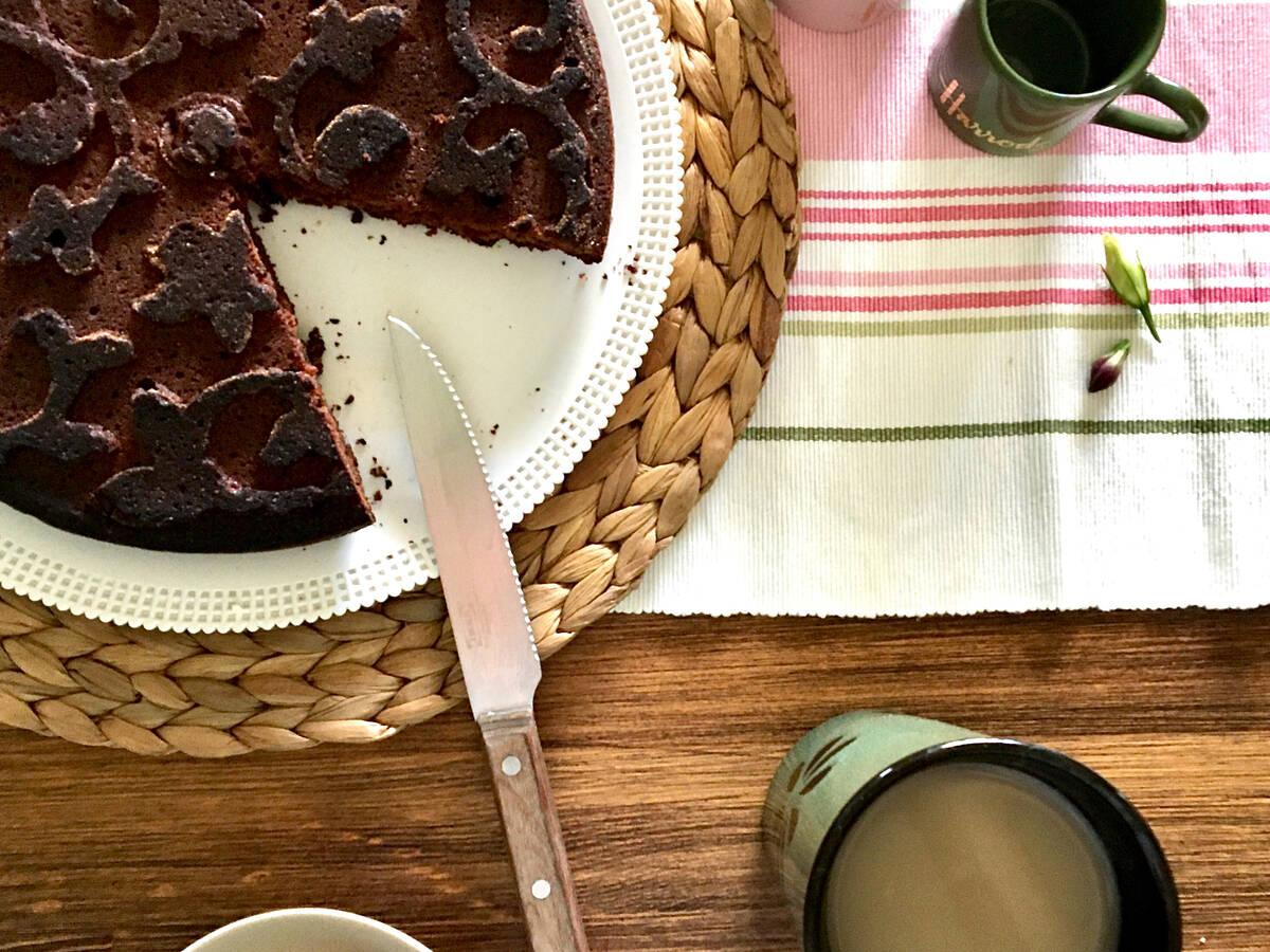 Vegan Chocolate Coffee Cake