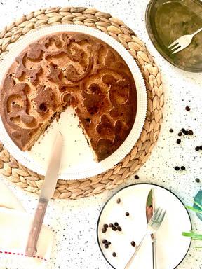 Vegan Tahini Coffee Cake