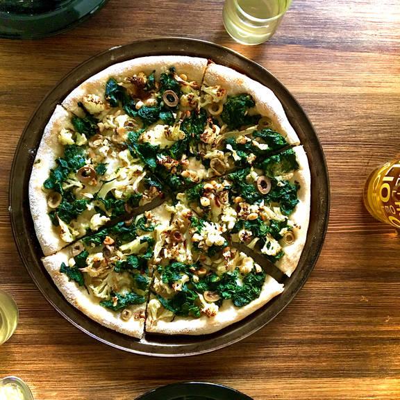 Vegan No Cheese Pizza Recipe Kitchen Stories