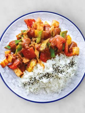 Masala Gemüse mit Basmati Reis