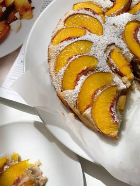 Peach pie 🍑