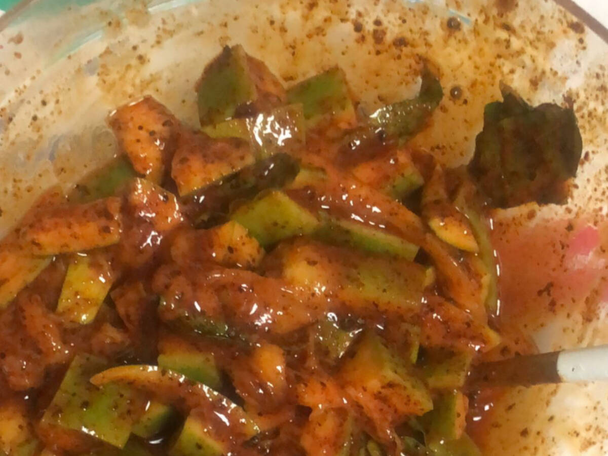 South Indian Mango pickle