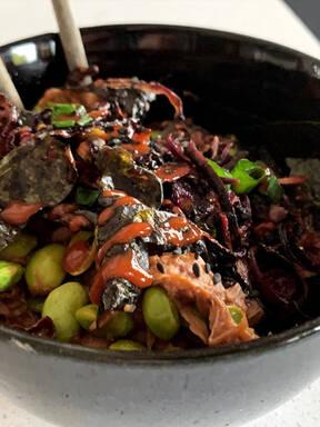 Jackfruit Sushi Bowl