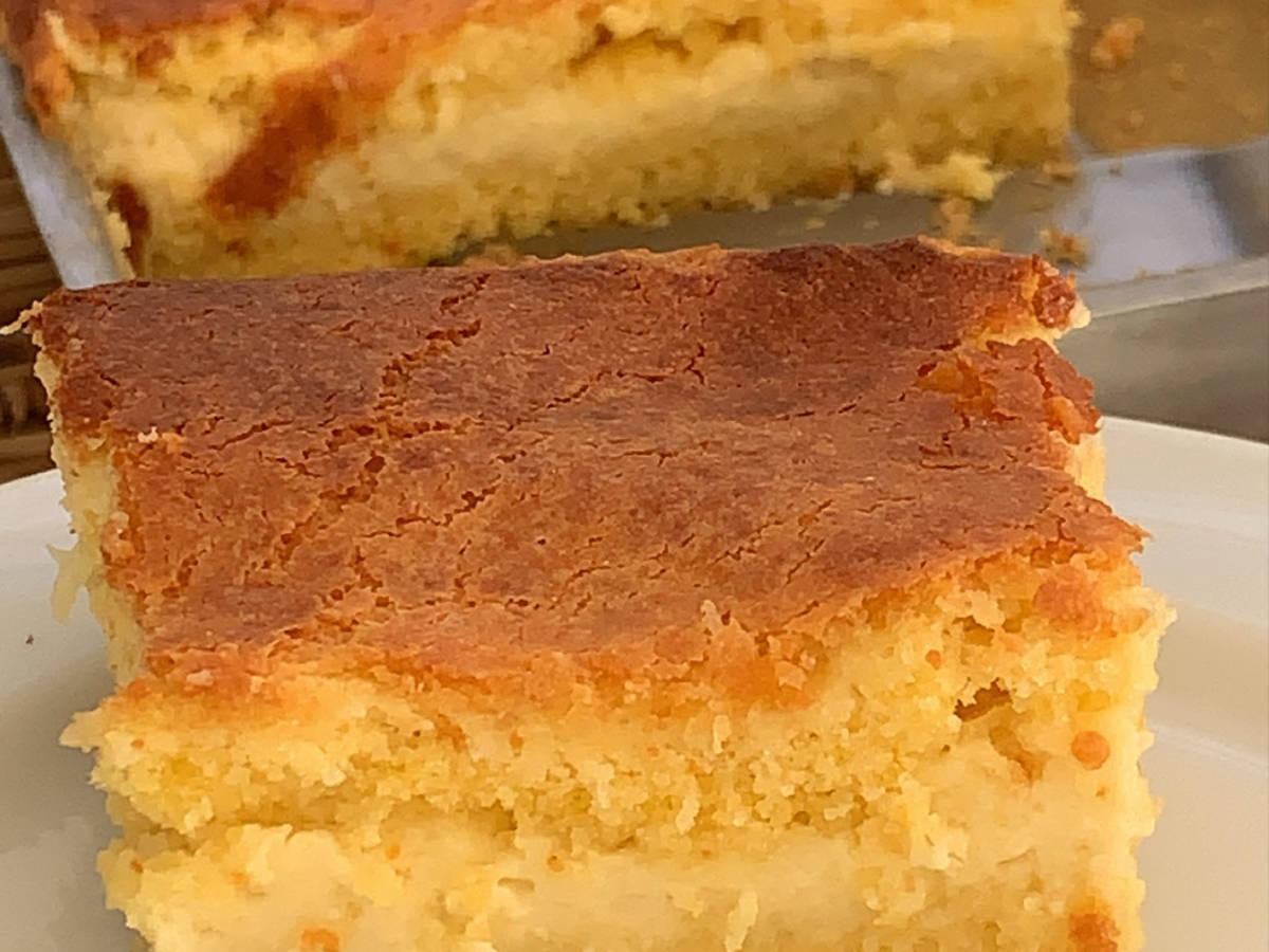 Grandma's Creamy Corn Cake