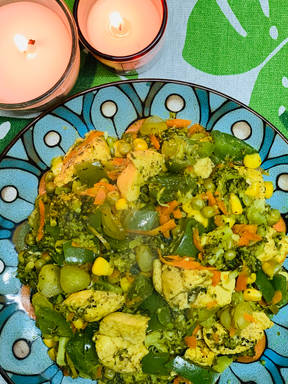 Chicken and broccoli Yum
