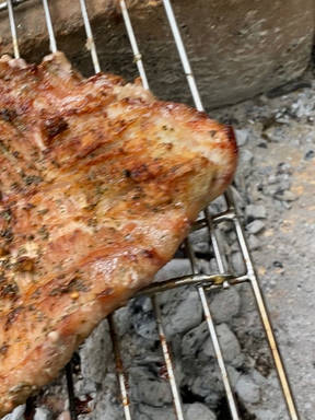 Grilled Flank steak with provenzal
