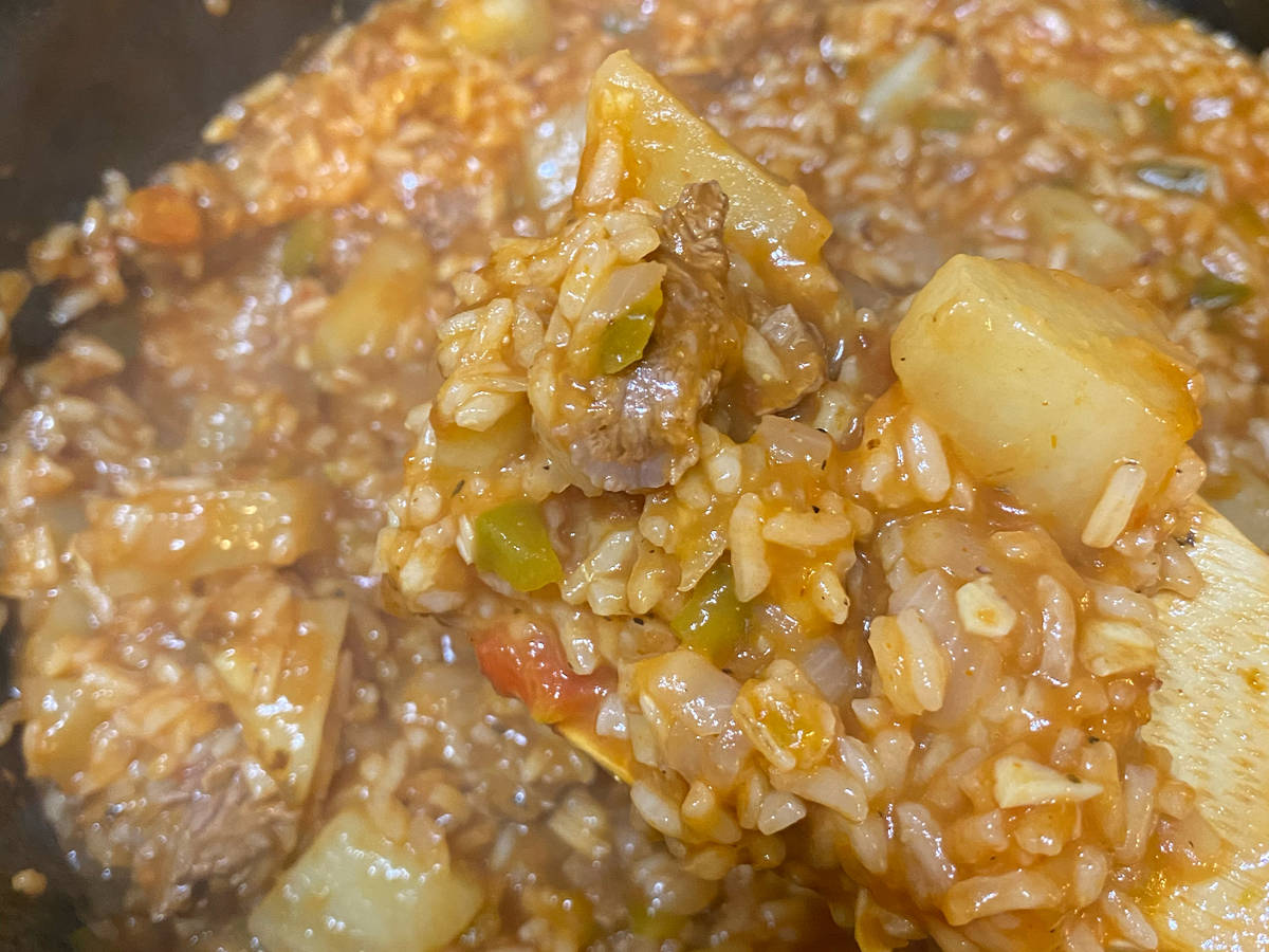 Argentine rice Stew