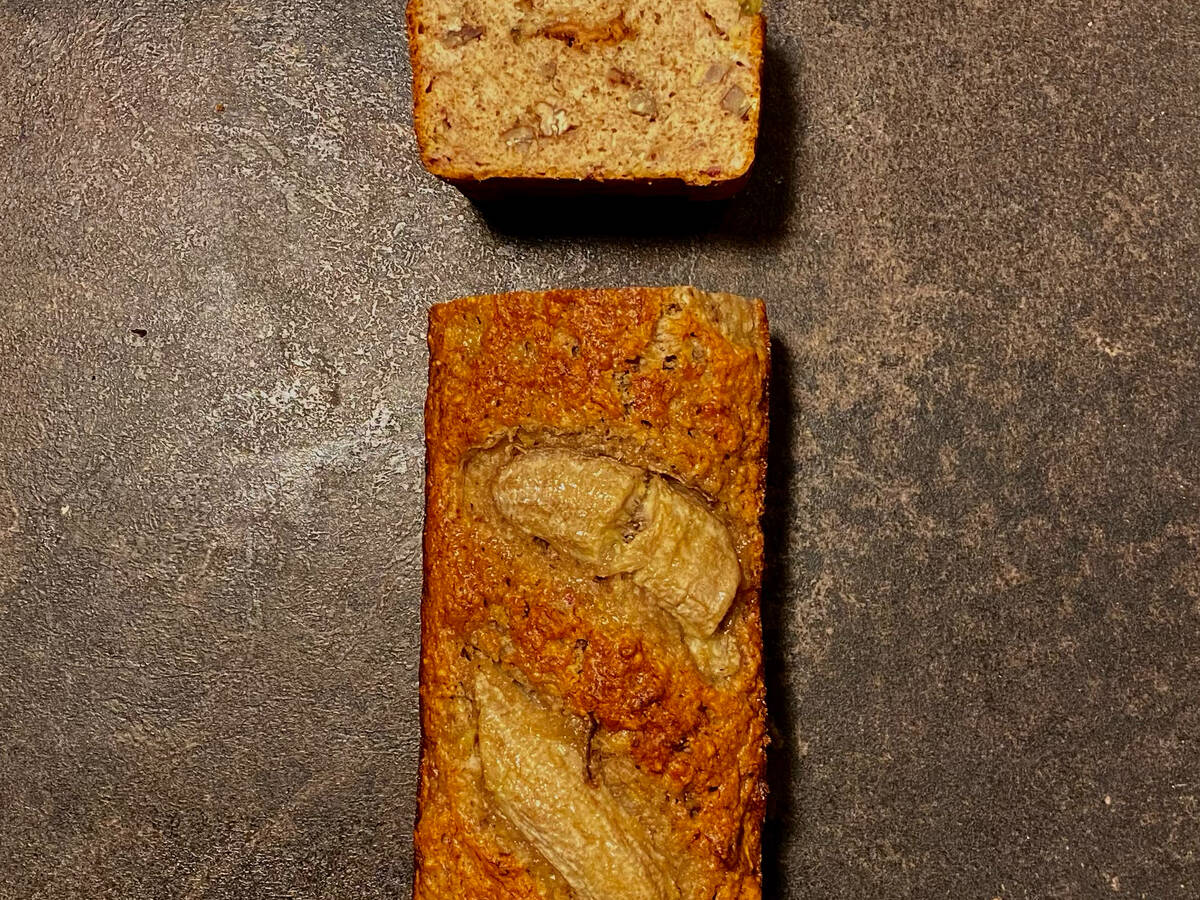 How old are the bananas? The bananabread recipe