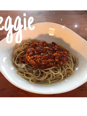 Vegetarische Soja Bolognese ♡︎