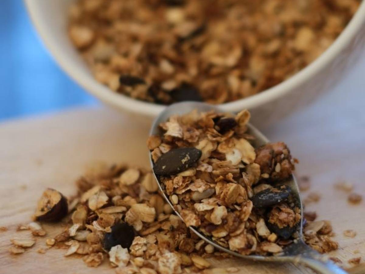 Nutty crunchy Granola