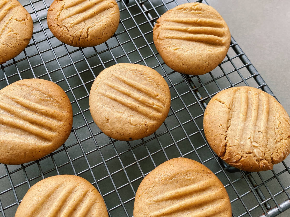 Golden Cinnamon Butter Biscuits