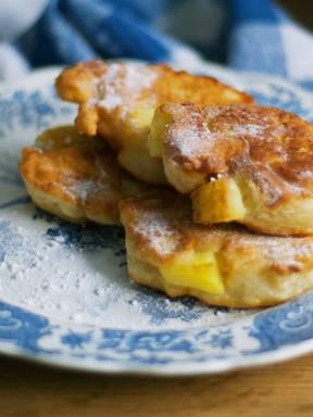 Polish Apple Fritters (Racuchy)
