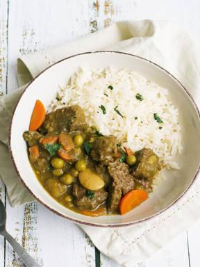 Peruvian Seco De Carne (Cilantro Beef Stew)